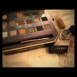 Lorac Pirates of the Caribbean Palette and extras